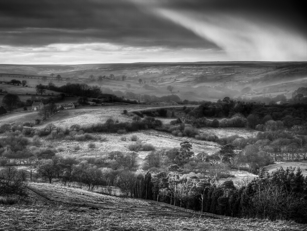 Smoke on the Moors in mono